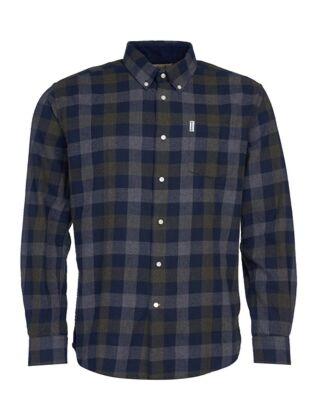 Barbour Westoe Shirt Navy