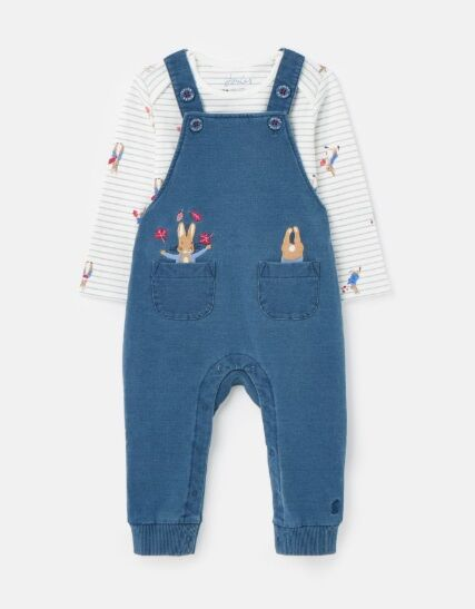 Joules Peter Rabbit Wilbur Denim Dungarees