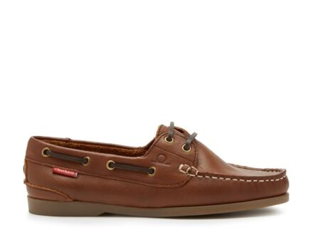 Chatham Willow Boat Shoe Brown