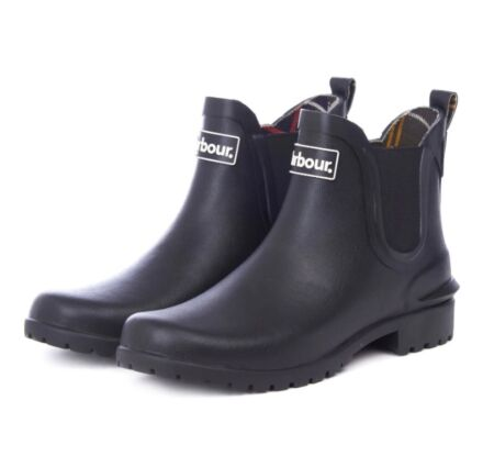Barbour Wilton Chelsea Wellingtons Black