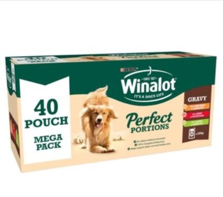 Winalot Mixed Gravy Pouch 40x100G