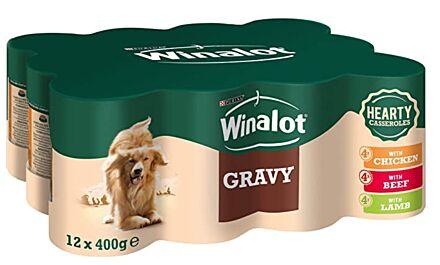Winalot Mixed Gravy Tin 12x400G