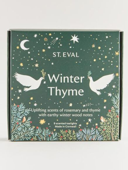 St Eval Winter Thyme Scented Christmas Tealights