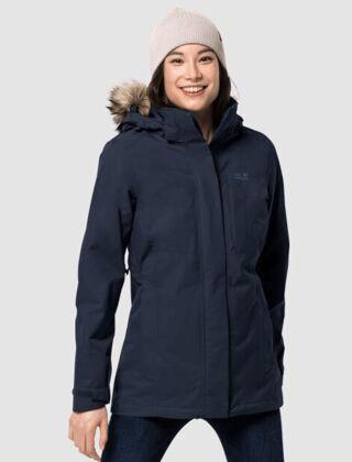 Jack Wolfskin Arctic Ocean 3in1 Jacket Midnight Blue