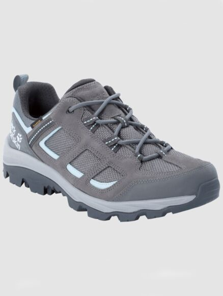 Jack Wolfskin Women's Vojo3 Texapore Low Waterproof Hiking Shoes Grey/Blue