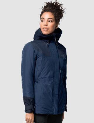 Jack Wolfskin Women's Brecon Range Insulated Jacket Dark Indigo