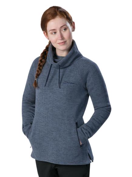 Berghaus Women's Canvey 1/2 Zip Fleece Blue