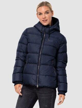 Jack Wolfskin Women's Crystal Palace Jacket Midnight Blue