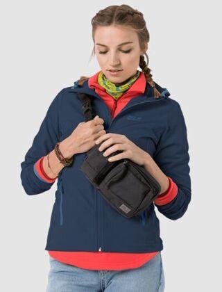 Jack Wolfskin Women's Turbulence Jacket Dark Indigo