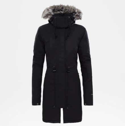 The North Face Women's Recycled Zaneck Parka TNF Black