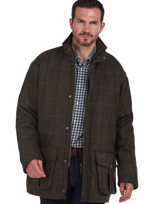 Barbour Woolsington Wool Jacket Olive Classic