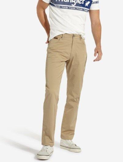 Wrangler Texas Stretch Trouser In Cornstalk