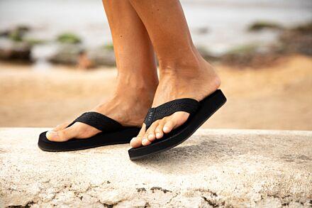 Reef Sandy Flip Flops Black/Black