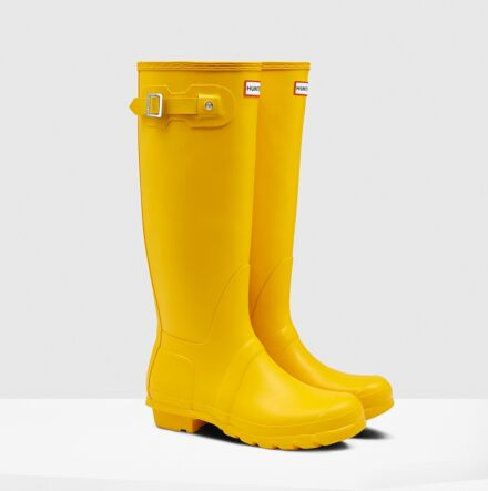 Hunter Women's Original Tall Boot Yellow