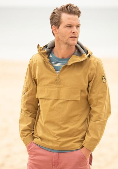 Brakeburn Pullover Jacket Yellow