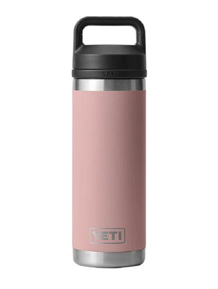 Yeti Rambler 18oz Bottle With Chug Cap Sandstone
