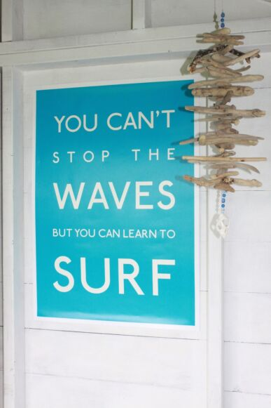 SeaKisses You Cant Stop The Waves Frame