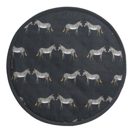 Sophie Allport Zebra Circular Hob Cover