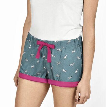 Sophie Allport Zebra Pyjama Shorts
