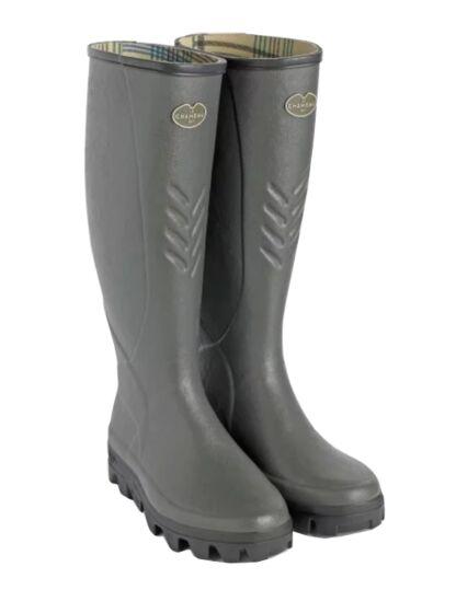 Le Chameau Ceres Men's Cotton Boot Bronze
