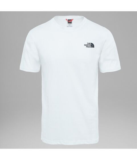 The North Face Men's Red Box Tee White