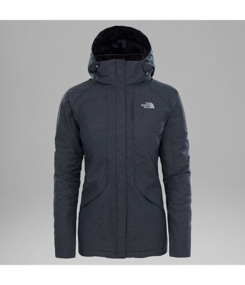The North Face Women's Inlux Insulated Jacket Black Heather