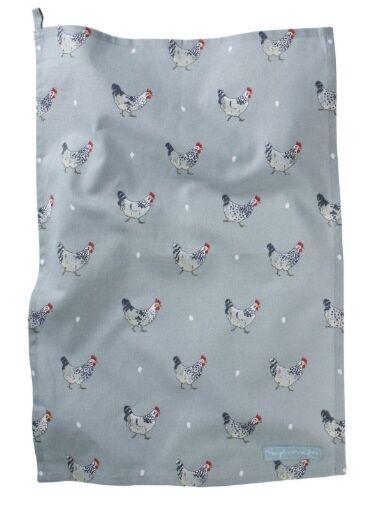 Sophie Allport Chicken Tea Towel