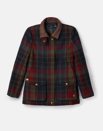 Joules Tweed Fieldcoat Red Tweed
