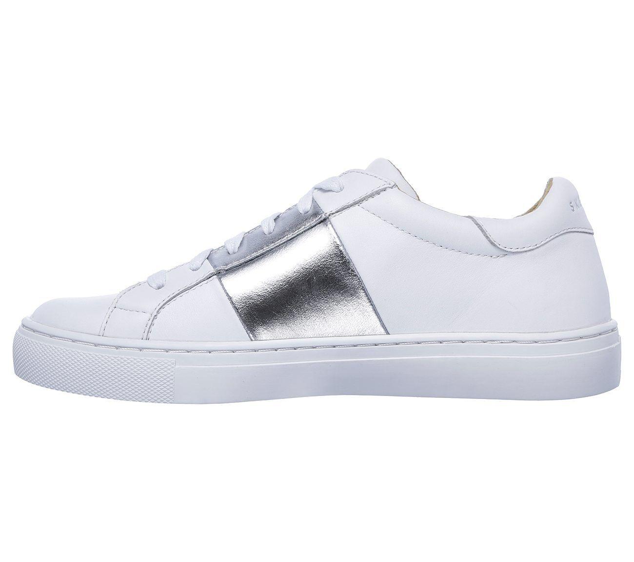 Skechers Side Street – Banded White