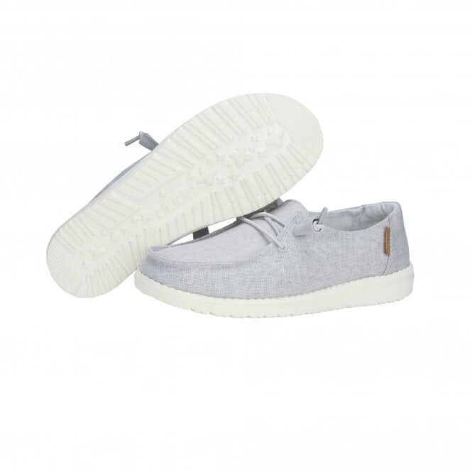 Hey Dude Shoes Wendy Cham Light Grey