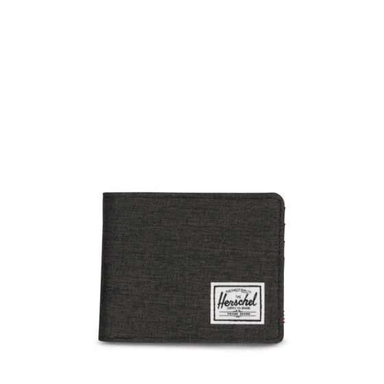 Herschel Roy Wallet Black/Crosshatch