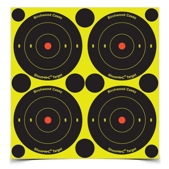 "Birchwood Casey 6"" NC Targets x 12"
