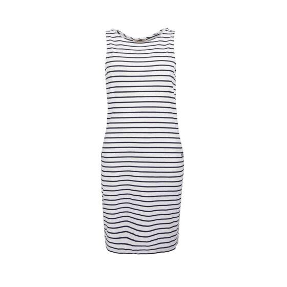 Barbour Dalmore Dress Navy/White