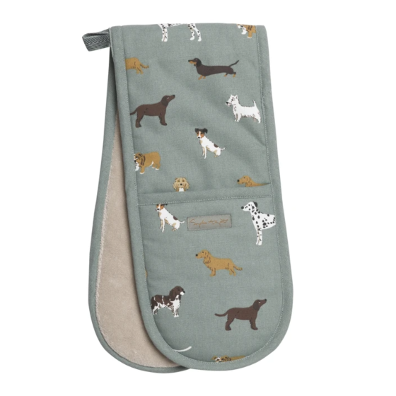 Sophie Allport Fetch Double Oven Glove