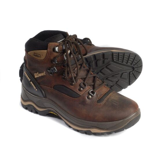 Grisport Mens Quatro Walking Boot Brown