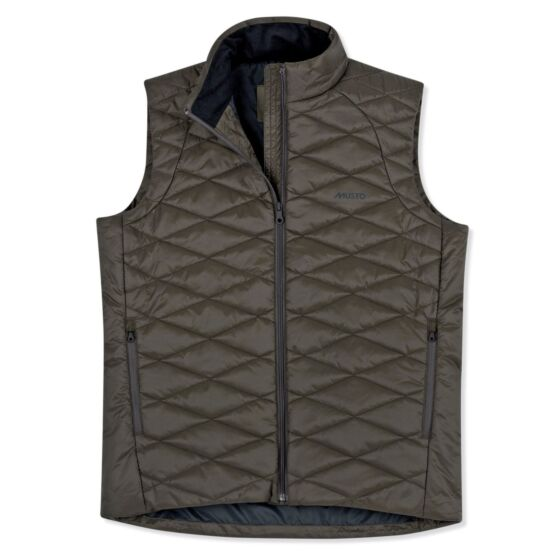 Musto Quilted PrimaLoft Waistcoat Rifle Green
