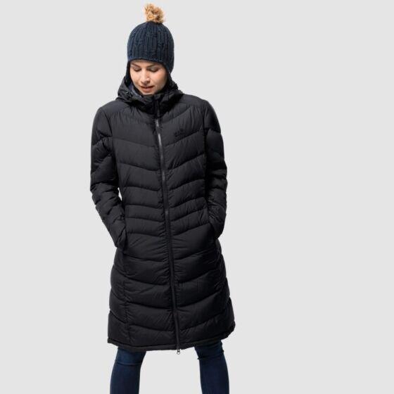 Jack Wolfskin Women's Selenium Coat Black