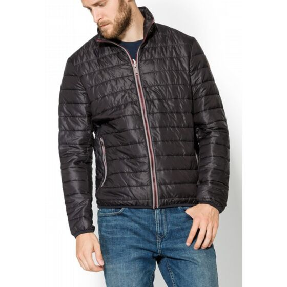 Timberland Mens Milford Quilted Jacket Dark Grey