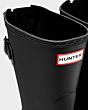 Hunter Women's Original Short Back Adjustable Boot Black