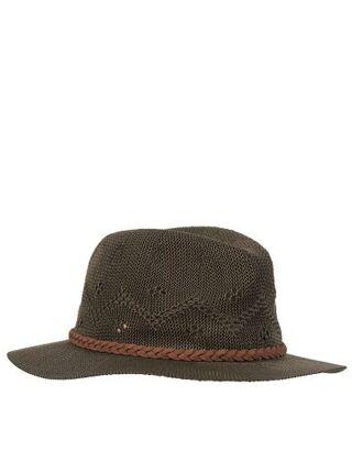 Barbour Flowerdale Trilby Hat Olive