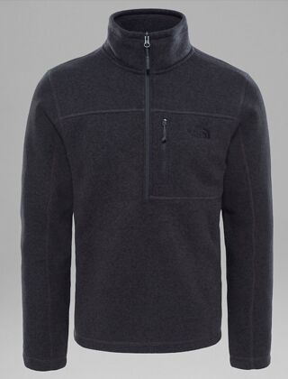 The North Face Men's Gordon Lyons 1/4 Zip Pullover Black