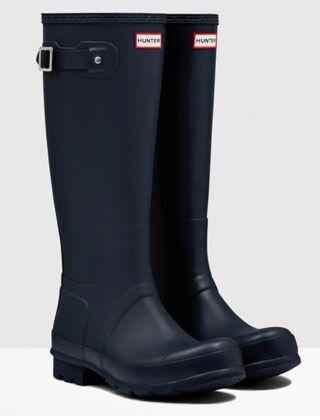 Hunter Men's Original Tall Boot Navy