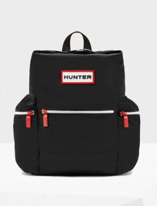 Hunter Original Mini Top Clip Backpack Nylon Black