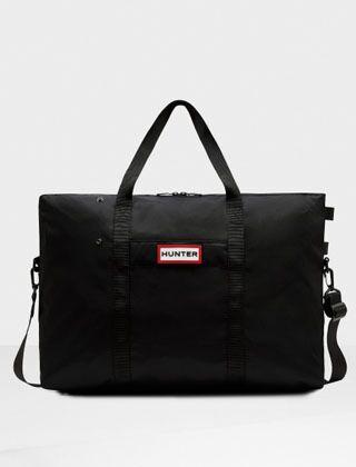 Hunter Original Nylon Weekender Bag Black