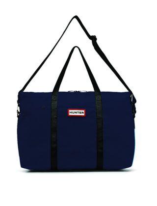 Hunter Original Nylon Weekender Bag Navy