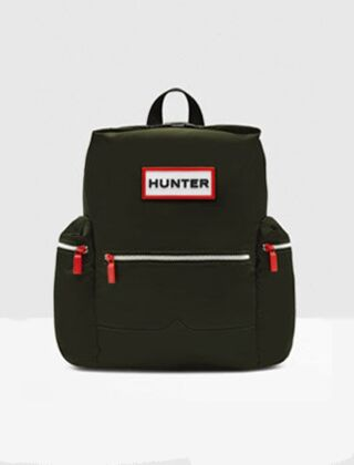 Hunter Original Top Clip Backpack Nylon Dark Olive