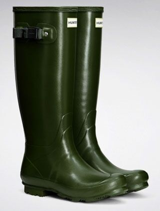 Hunter Women's Norris Field Boot Vintage Green