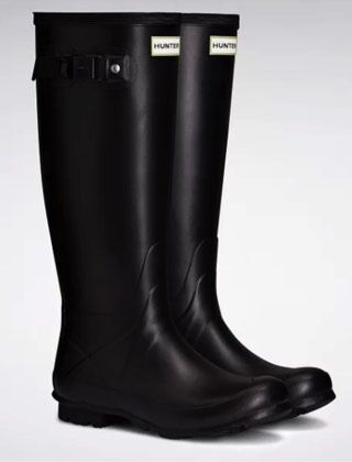 Hunter Women's Norris Field Neoprene Boot Black