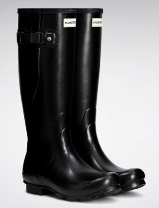 Hunter Women's Norris Field Side Adjustable Boot Black