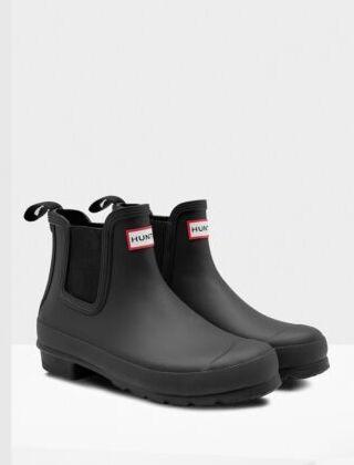 Hunter Women's Original Chelsea Boots Black